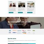 into work website screenshot