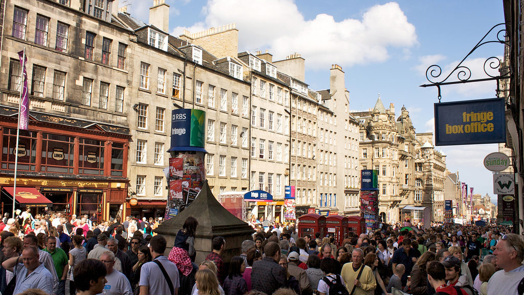 My Edinburgh Festival Volunteer Experience