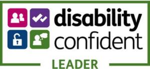 Disability confident leader mark